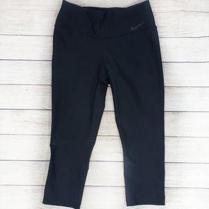 Nike Dri-Fit Black Capri Yoga Pants